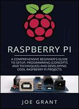 Raspberry Pi: A Comprehensive Beginner's Guide To Setup, Programming(concepts And Techniques) And Developing Cool Raspberry Pi Projects