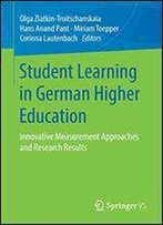 Student Learning In German Higher Education: Innovative Measurement Approaches And Research Results