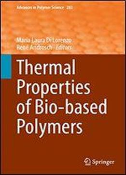 Thermal Properties Of Bio-based Polymers