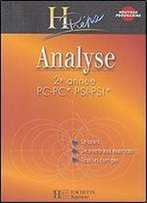 Analyse 2e Annee Pc Pc-Pc/Psi-Psi