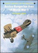 Austro-Hungarian Aces Of World War 1 (Aircraft Of The Aces)