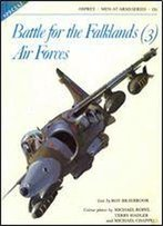 Battle For The Falklands (3): Air Forces (Men-At-Arms Series 135)
