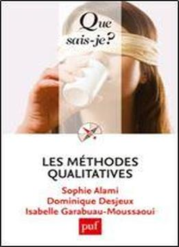 Les Mthodes Qualitatives