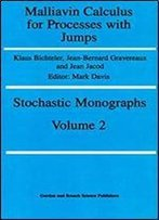 Malliavin Calcul Procesesses J (Stochastic Monographs : Theory And Applications Of Stochastic Processes, Vol 2)