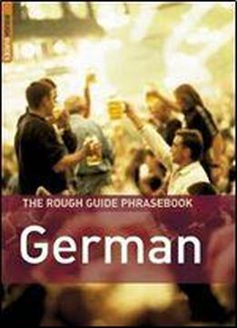The Rough Guide To German Dictionary Phrasebook 3 (rough Guides Phrase Books)