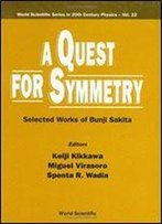 A Quest For Symmetry: Selected Works Of Bunji Sakita