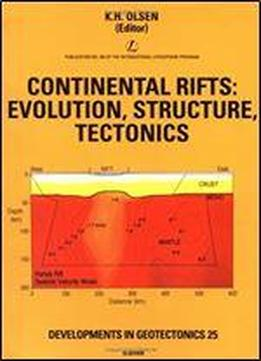 Continental Rifts: Evolution, Structure, Tectonics (developments In Geotectonics)