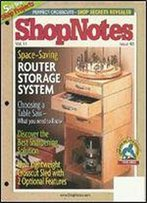 Woodworking Shopnotes 063 - Space-Saving Router Storage System